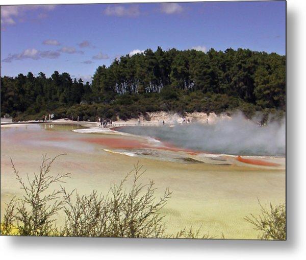 Rotorua New Zealand 3 Metal Print