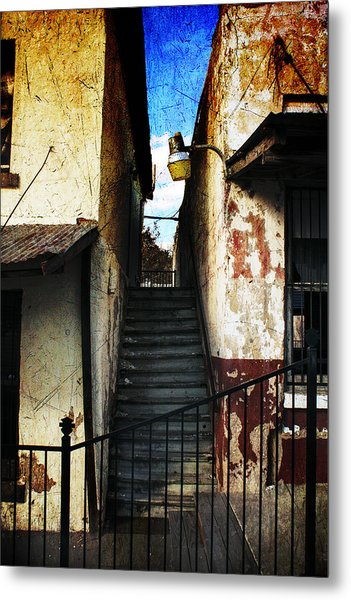 Rough Climb Metal Print