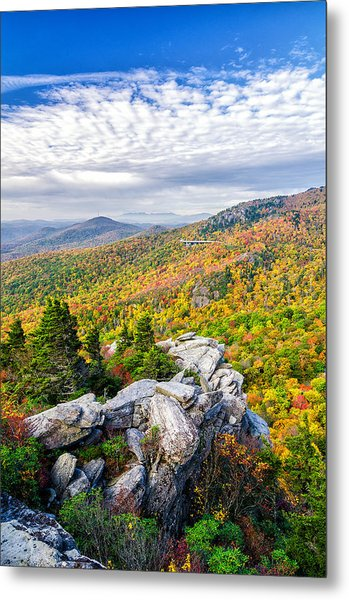 Rough Ridge Fall Metal Print
