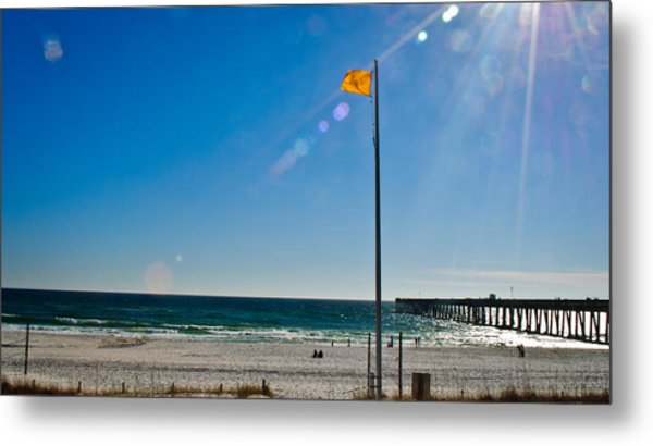 Rough Water Metal Print