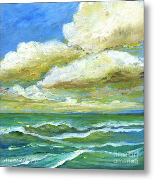 Rough Waters Metal Print by Maria Williams