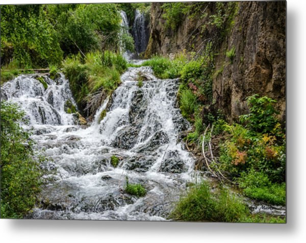Roughlock Falls South Dakota Metal Print