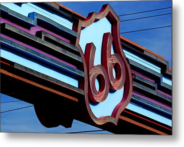 Route 66 Archway Metal Print