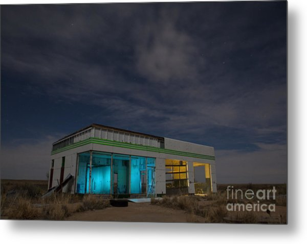 Route 66 Full Service Metal Print
