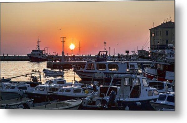 Rovinj Sunset 2 - Croatia Metal Print