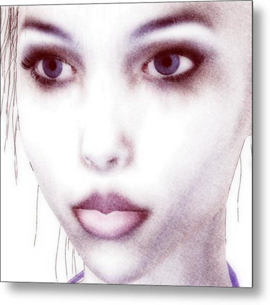 Roxie Close Metal Print