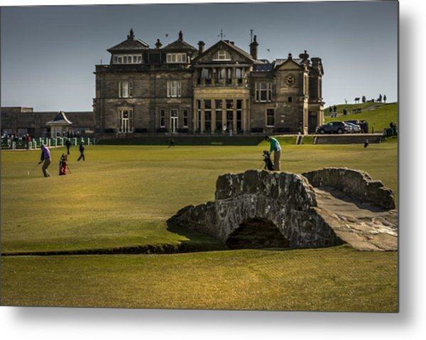 Wall Pictures Royal And Ancient Golf Club Metal Print