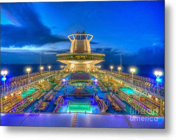 Royal Carribean Cruise Ship  Metal Print