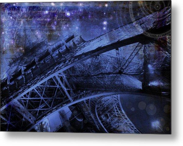 Royal Eiffel Tower Metal Print