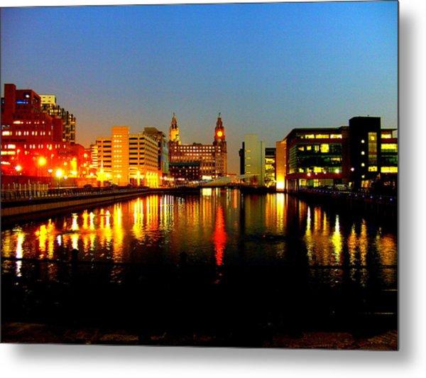 Royal Liver Building Liverpool  Metal Print