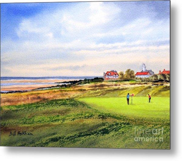 Royal Liverpool Golf Course Hoylake Metal Print