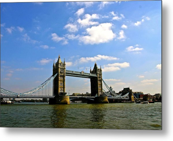 Royal London Bridge Metal Print