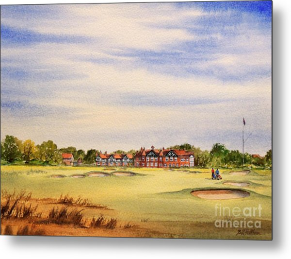 Royal Lytham And St Annes Golf Course Metal Print