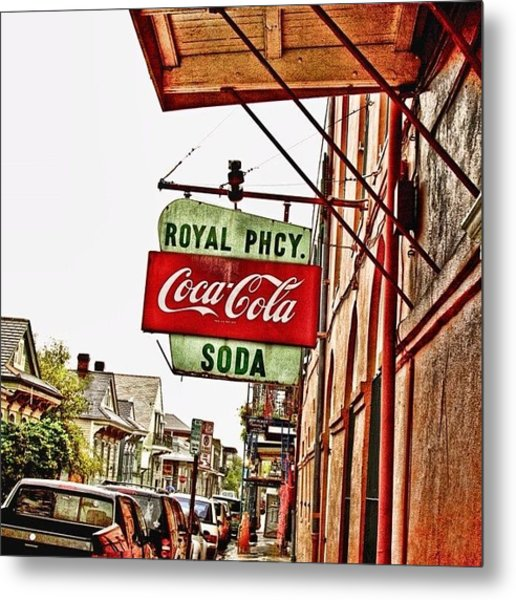 Royal Pharmacy  Metal Print