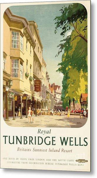 Royal Tunbridge Wells Poster Advertising British Railways Metal Print