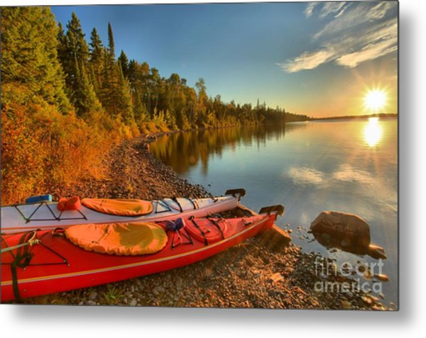 Royale Sunrise Metal Print