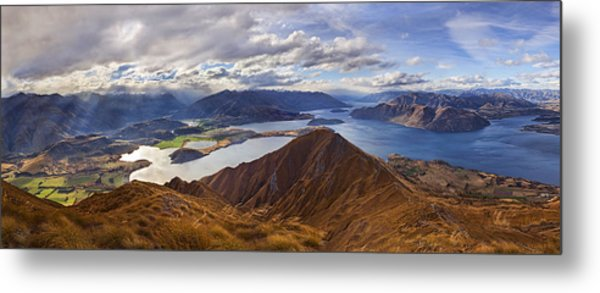 Roy's Peak Metal Print
