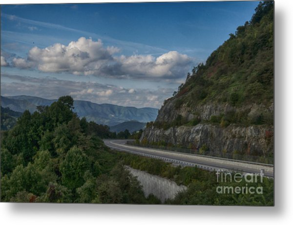 Rt 26 Overlook Metal Print