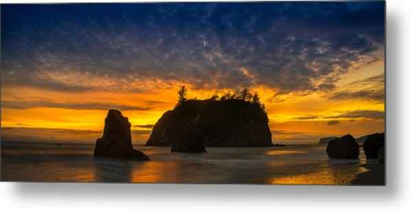 Ruby Beach Olympic National Park Metal Print