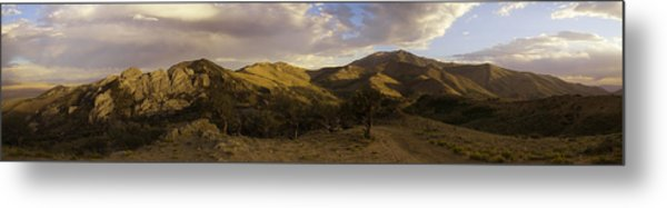Ruby Mountain Panorama Metal Print