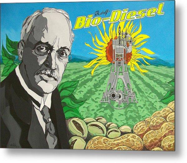 Rudolf Bio-diesel Metal Print