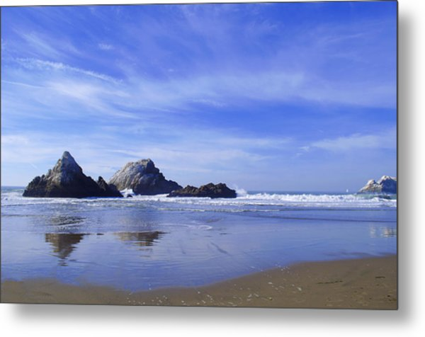 Rugged Reflections Metal Print