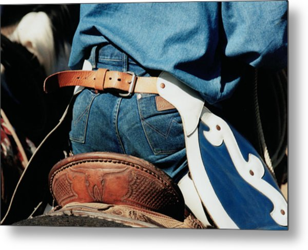 Rugged Wrangler Metal Print