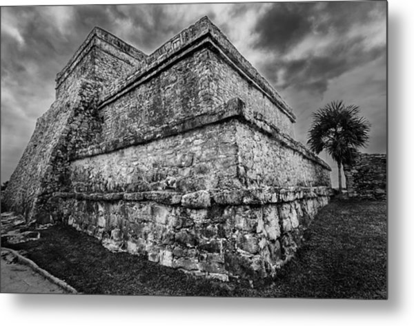 Ruin At Tulum Metal Print