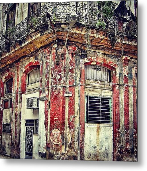 Ruins - Havana once Upon A Time Metal Print