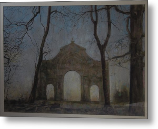 Ruins In A Place Called Heaven Gate Metal Print