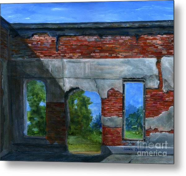 Ruins In Pleaant Hill Metal Print