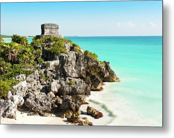 Ruins Of Tulum Metal Print by Asmithers