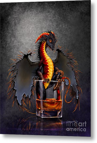 Rum Dragon Metal Print