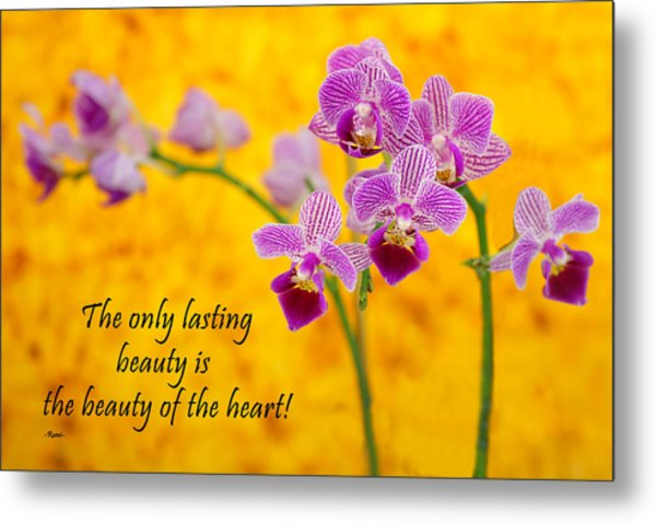 Rumi Quote-1 Metal Print