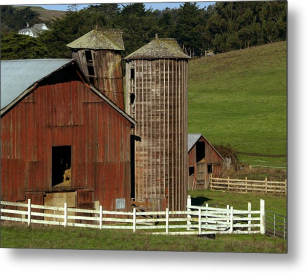 Rural Barn Metal Print
