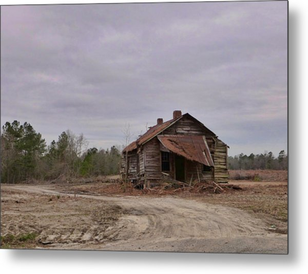 Put Out By The Roadside Metal Print