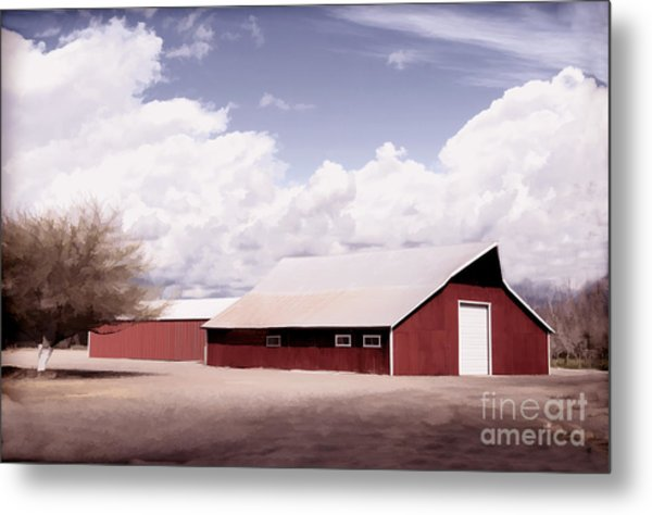 Rural Highway 99 Metal Print