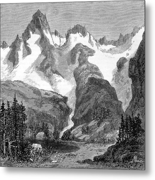 Rush Creek Glacier Metal Print by Universal History Archive/uig