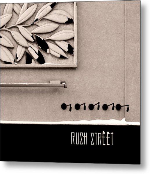 Rush Street Metal Print