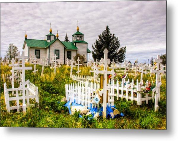 Russian Orthodox Church In Ninilchik Alaska Metal Print
