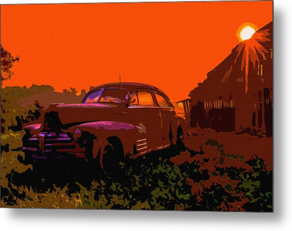 Rust In Peace 4 Metal Print by Brian Stevens