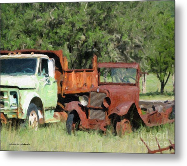 Rust In Peace No. 1 Metal Print