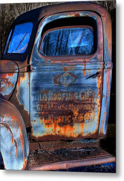 Rust Never Sleeps Metal Print by Wayne King