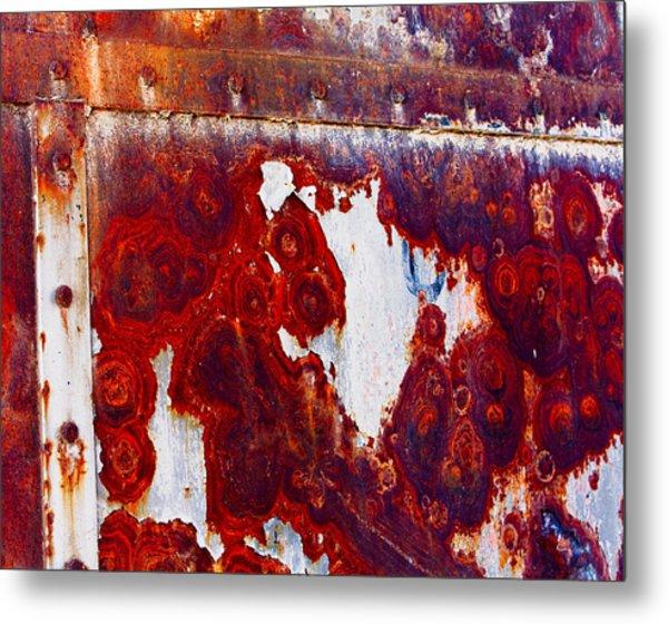 Rusted Metal Metal Print by Craig Brown