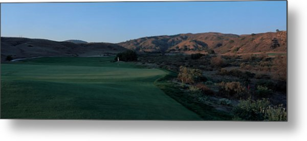 Rustic Canyon Golf Course Metal Print By Stephen Szurlej