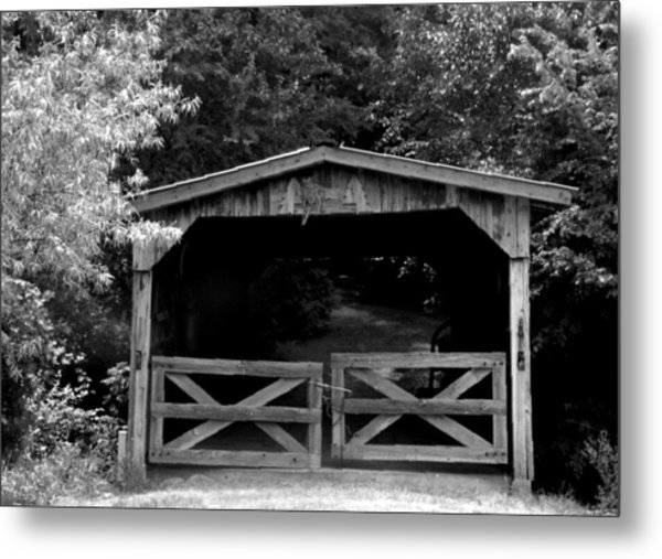 Rustic Past Metal Print