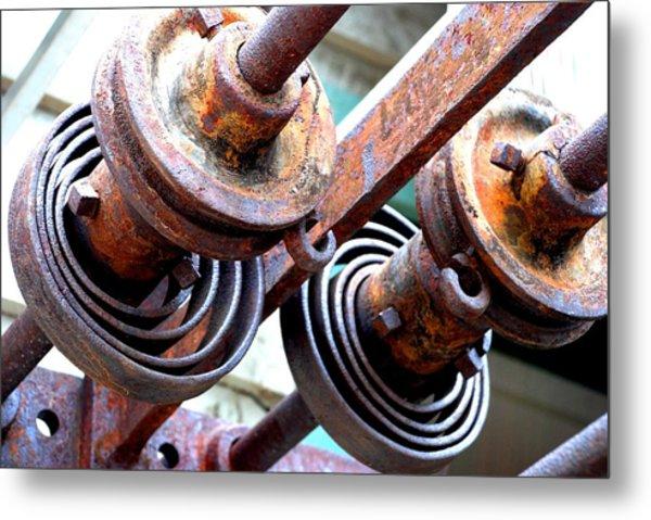 Rusty Relics Metal Print