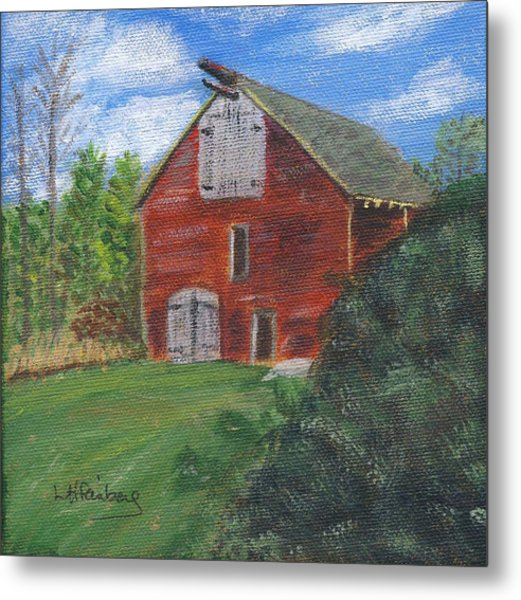 Ruth's Barn Metal Print