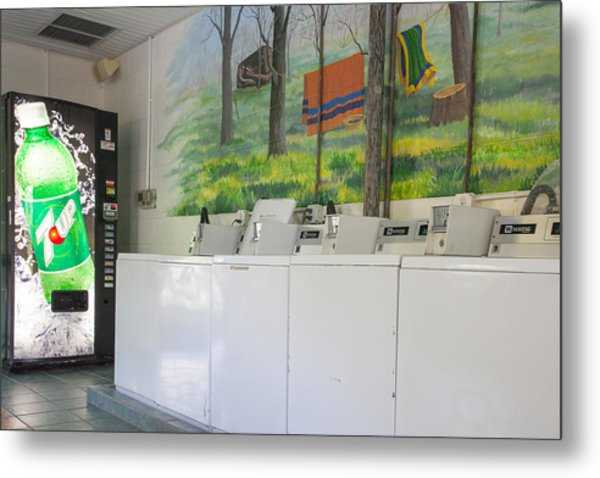 Rutledge Lake Rv Park Laundry Facilities Asheville Nc Metal Print