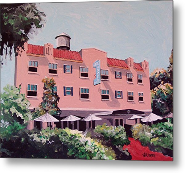 Ryde Hotel Metal Print by Paul Guyer